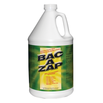 Picture of Bac-Azap Odor Eliminator (1-gal. bottle)