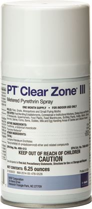 Picture of PT Clear Zone III Metered Pyrethrin Spray (6.25-oz. can)