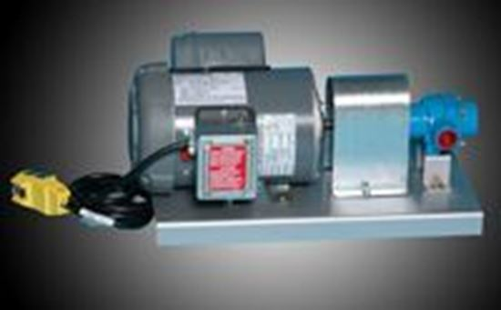 Picture of Hypro 4001C Roller Pump with 1 HP Electric Motor
