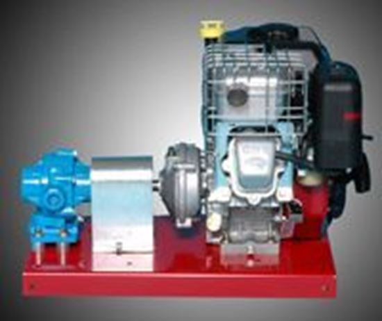 Picture of Hypro 7560C-R Roller Pump with Briggs & Stratton Intek Pro Engine