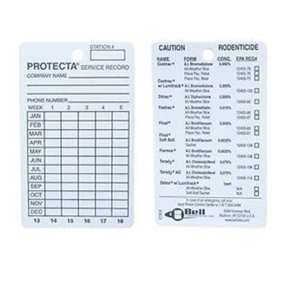 Picture of PROTECTA Service Card (100 count)