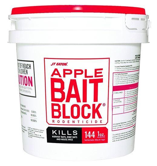 Bait Block Apple Flavor Rodenticide (144 x 1-oz. pail)