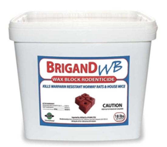 Picture of Brigand WB Wax Block Rodenticide (18-lb. pail)