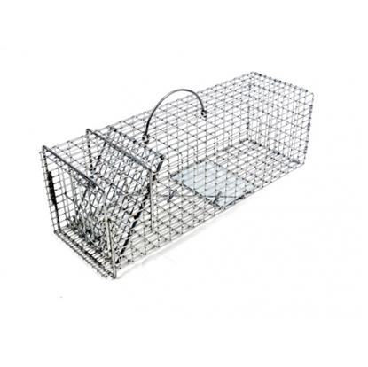 Picture of Tomahawk Pro Squirrel, Rat, Muskrat Trap with One Trap Door (19-in. x 6-in. x 6-in.)