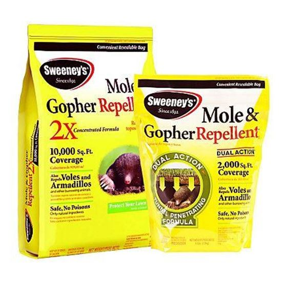Picture of Mole & Gopher Repellent Granules