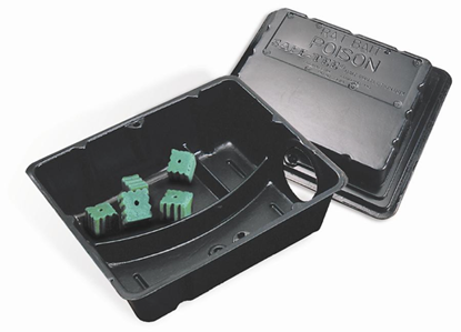 Picture of  Rat Size Safe-Tee Plastic Bait Station