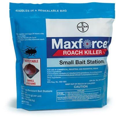 Picture of Maxforce Roach Killer Small Bait Stations (4 x 72 x 0.05-oz. stations)