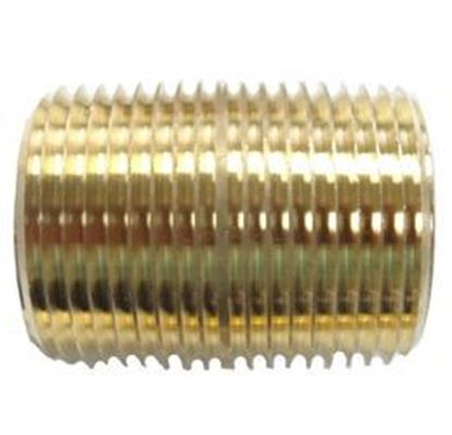 Picture of Couplings Company 112F Close Pipe Nipple - 1/2 in.