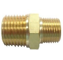 Picture of Couplings Company 112REC Hex Pipe Nipple Reducing - 3/8 in. x 1/4 in.