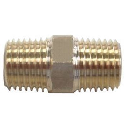 Picture of Couplings Company 112XF Hex Pipe Nipple - 1/2 in.