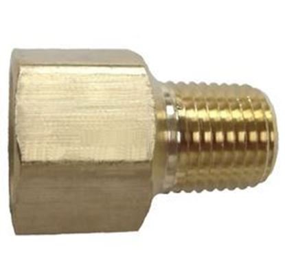 Picture of Couplings Company 120RJF Reducing Pipe Adapter - F 3/4-14 x M 3/8-18
