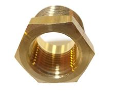 Picture of Couplings Company 110F Pipe Hex Bushing - 1/2 x 3/8
