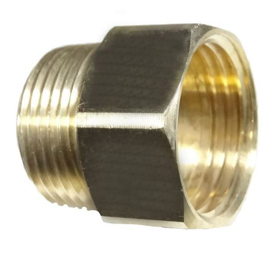 Picture of Couplings Company 758JJ Female Garden Hose x Male Pipe - 3/4 x 3/4
