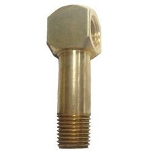Picture of Couplings Company 116LE1 Long Street Elbox - 3/8 in. x 1.75 in.
