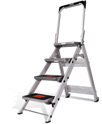 Picture of Little Giant Safety Step Ladder - 4 Step (1A)