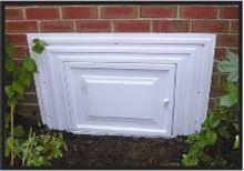Picture of DPI E-Z Access Crawlspace Door - Standard - White