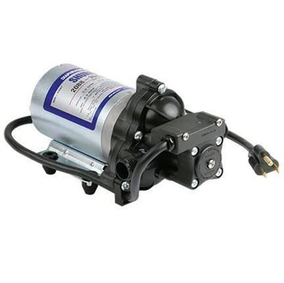 Picture of Shurflo 2088 Series - 2088-394-144 Automatic Demand Pump 115VAC with 6 ft. Power Cord