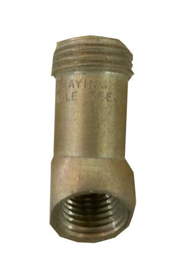 Picture of Spraying Systems 4183B-1/8TA Nozzle Body - 45 deg. 1/8 in. Brass