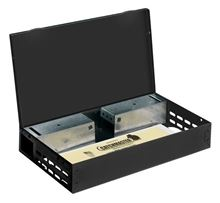 Picture of Catchmaster 612 Multi-Catch Mouse Trap - Solid Lid - Black (12 count)