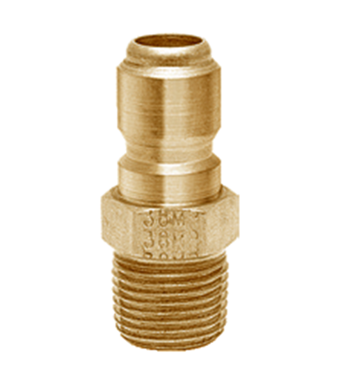 Picture of Foster 38MPB Quick Disconnect Plug - 3/8 in. MPT