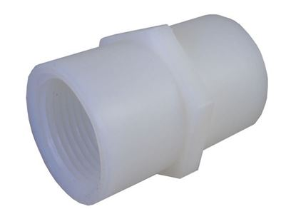 Picture of A&M Industries CC66 Nylon Coupling - 3/8 in.