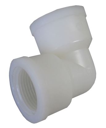 Picture of A&M Industries EL88 Nylon Pipe Elbow - 1/2 in. x 1/2 in.
