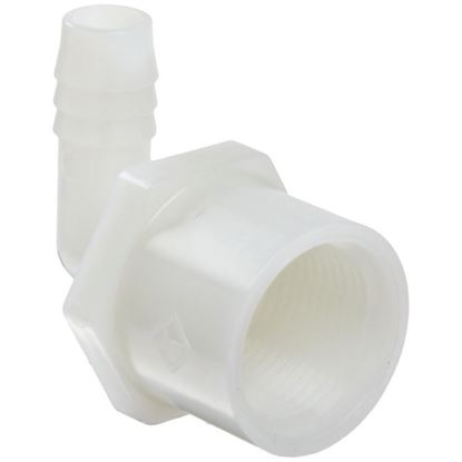 Picture of A&M Industries TEF20128 90 Degree Elbow Hose to Female Pipe Adapter - 1/2 in. to 3/4 in.