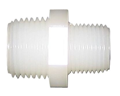 Picture of A&M Industries TRN6086 Nylon Reducing Nipple -  1/2 in. x 3/8 in.