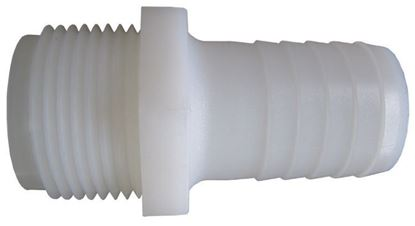 Picture of Hypro A1238 Nylon Hose Barb - 1/2 in. MPT x 3/8 in.