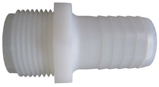 Picture of Hypro A114 Nylon Hose Barb - 1 1/4 in. MPT x 1 1/4 in.
