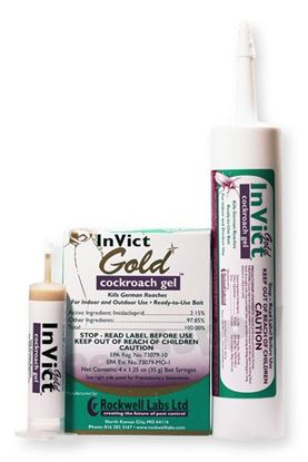Picture of InVict Gold Cockroach Gel