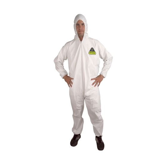 Picture of Defender Coverall with Hood