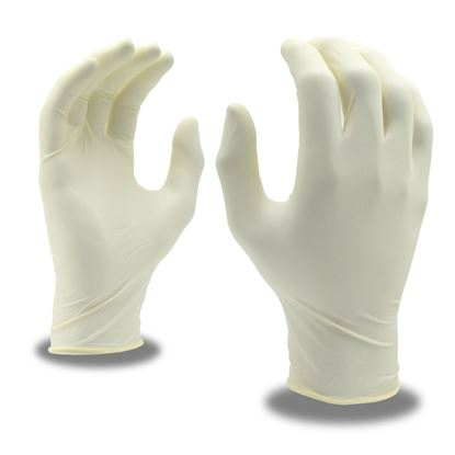 Picture of Disposable Powder-Free Latex Gloves