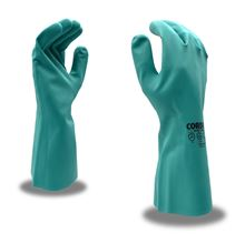 Picture of Unsupported Nitrile Flocked Lined Gloves - XL